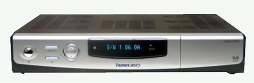 Homecast S 8000 PVR + 80 GB HDD